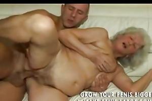 granny blond receives sweaty part2