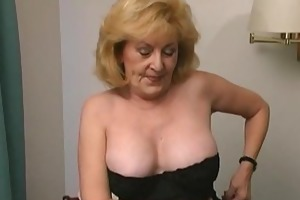 breasty older drilled hard at the motel