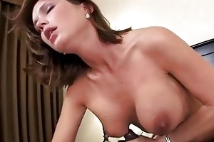 non-professional mother i hottie takes facial