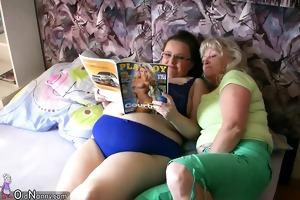 big beautiful woman chunky woman with old granny