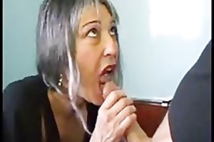 french older receives drilled in the ass