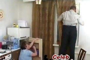 youthful boy bonks russian granny youn