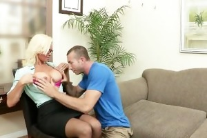 big-tit milf doctor rhylee richards helps