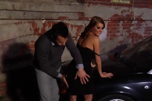 car sex in alley