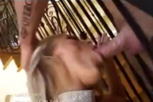 blond d like to fuck takes a huge jock