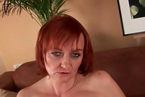 red sexy grannies love to masturbate and fuck