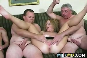 horny older people having sex