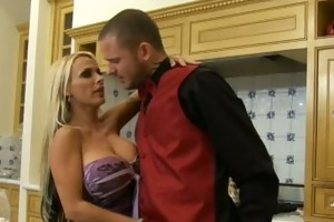 holly halston gives a decision to have the waiter