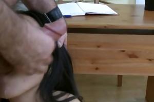 mey likes doctors cum in her throat