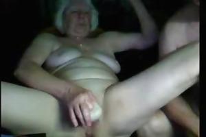 amateur. granny had pleasure on web livecam