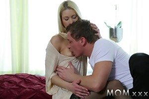 mommy skinny mature woman bonks her married