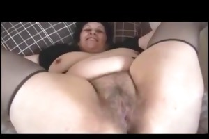 busty bulky assed unshaved older bbw widens