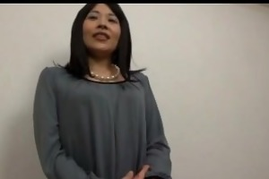 diminutive titted oriental office lady