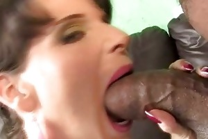 breasty mother i riding a darksome penis to save