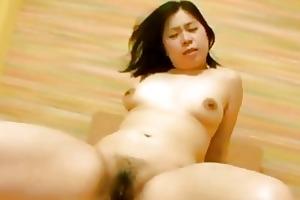overweight japan milf haruka fukuda riding a hard