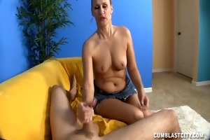 excited older lady wants a jizz flow