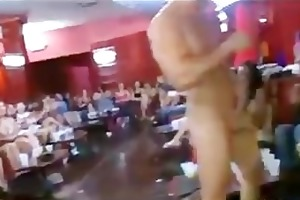 tons of group sex on dance floor