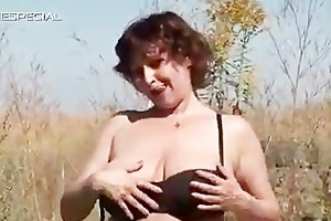 excited mother i receives her unshaved muf