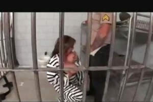 jail fuck with large titted mother i