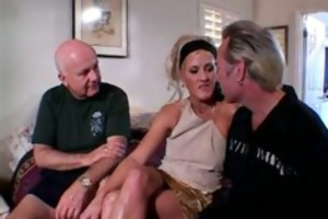 blond wife double drilled