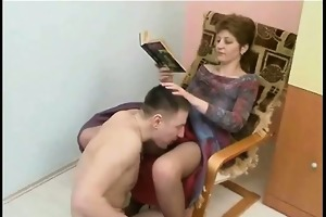 perverted cougar fucked and licked sexy