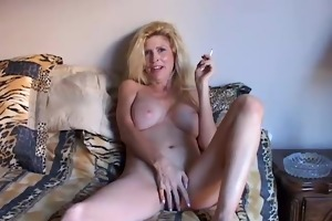 glamorous golden-haired d like to fuck enjoys a