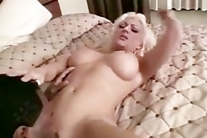 electric blond wife loves large dark penis