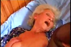 excited granny fucking