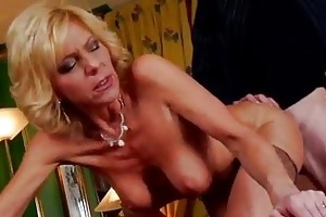 hot euro granny bangs youthful guy