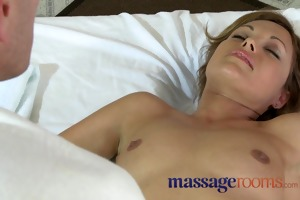 massage rooms lustful milfs receive oiled up and