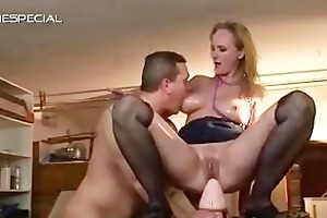 aged d like to fuck gets all her holes filled